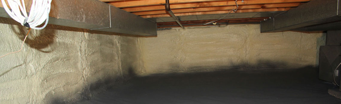 crawl space insulation in Idaho